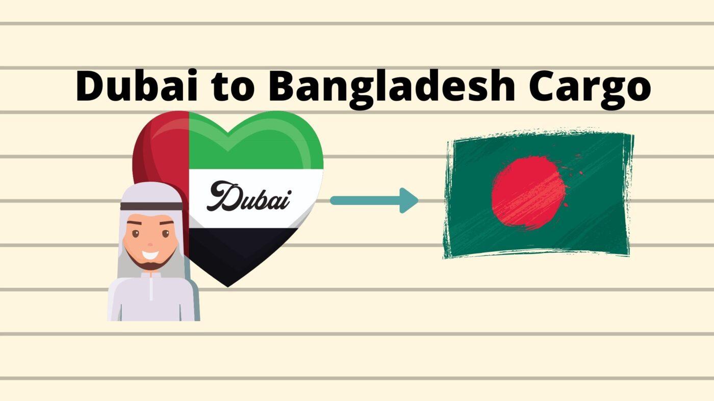 Cargo to Bangladesh from Dubai