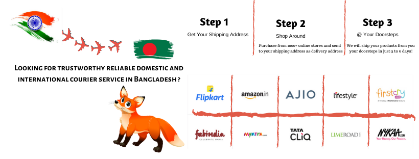 India To Bangladesh Courier Service