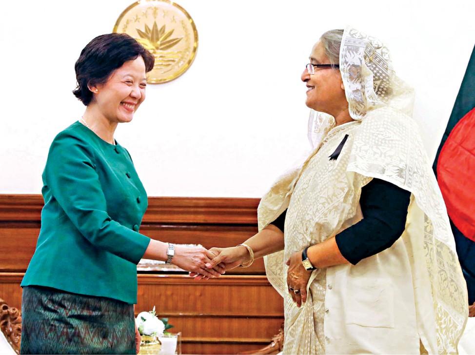 Thailand to Bangladesh courier service